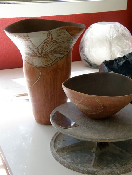 Limnonari vessel 3 and 1 pre- fired