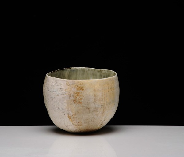 Title: Give and Take VI (pot b), 2012. Size: 20x23x21cm. Medium: Thrown and Altered Porcelain