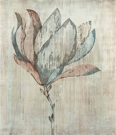 Title: Hiatus IV, 2011. Size: 140 x 120cm. Medium: watercolour, drawing on board