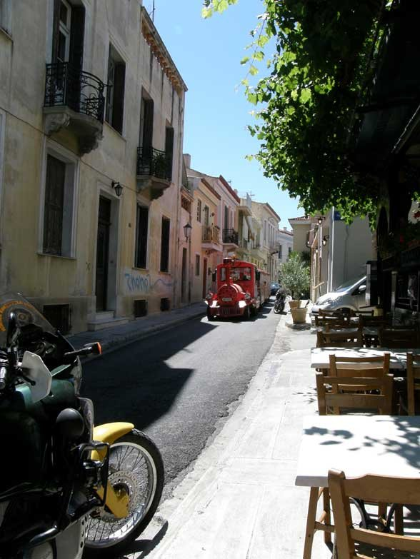 Plaka streets