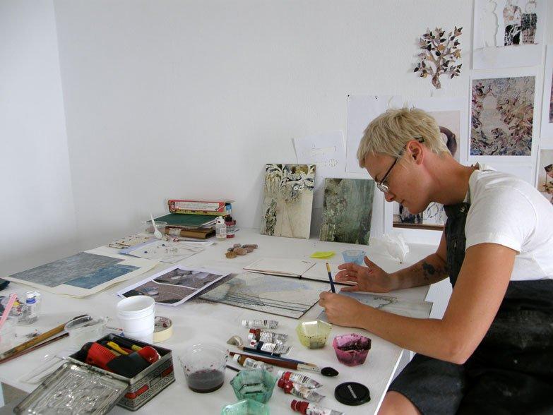 Painting in studios