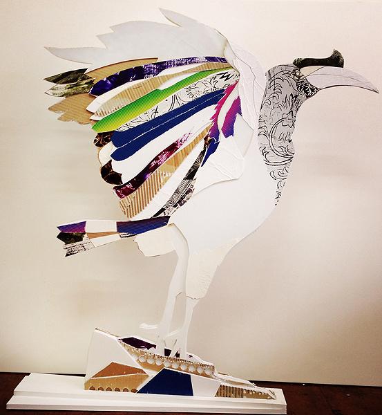 Paper model complete