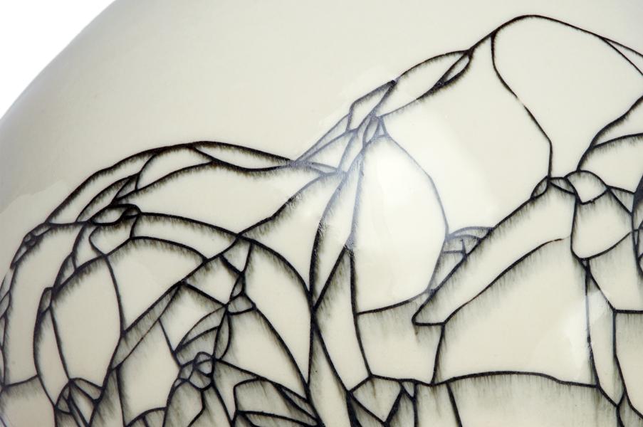 Title: Hua Ping IV, 2013 - Detail