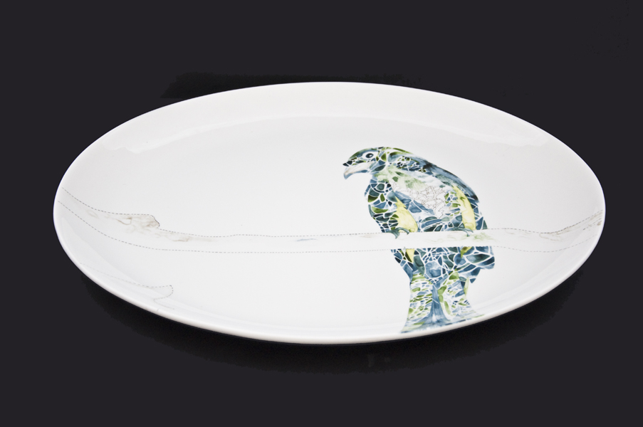 Oval Platter. Limited edition of 100