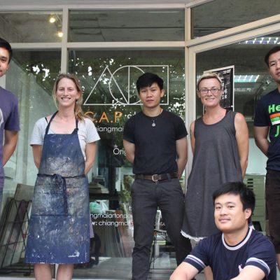 The C.A.P print team