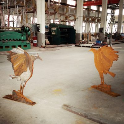 'Extract' was an edition of 3. This photos shows two in various stages of finishing at Shanghai UAP studios