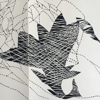 Final drawing for 'Beacon' laser cut file